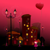 Romantic background for valentine's day Stock Photography