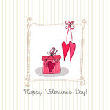 Romantic background for valentine's day Royalty Free Stock Photography
