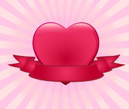 Romantic background vector illustration Stock Images