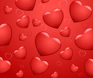 Romantic background vector illustration Stock Photo