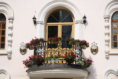 Romantic balcony Stock Images