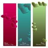Romantic banner Stock Photos