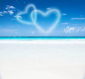 Romantic beach resort Stock Photography
