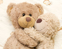 Romantic bears Royalty Free Stock Photography