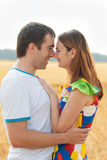 Romantic beautiful couple Royalty Free Stock Photo