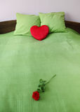 Romantic bed Stock Image