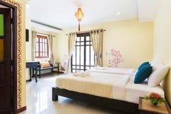 Romantic bedroom Stock Image