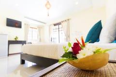 Romantic bedroom Stock Photography