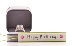 Romantic Birthday Gift Stock Image