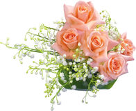 Romantic bouquet. Royalty Free Stock Photography