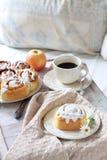 Romantic breakfast Royalty Free Stock Image