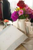 Romantic Breakfast Table Arrangement Royalty Free Stock Photos
