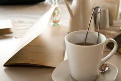 A Romantic Breakfast Table Arrangement Royalty Free Stock Photos