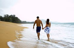 Romantic breeze Stock Images