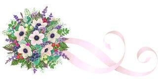 Romantic Bridal Bouquet Stock Image