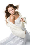 Romantic bride Stock Photos