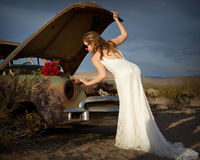 Romantic bride 4 Stock Photography