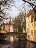 Romantic Bruges Royalty Free Stock Photography