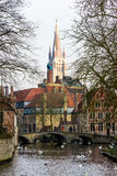 Romantic Bruges Royalty Free Stock Photos