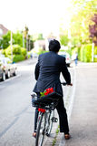 Romantic businessman Stock Photos