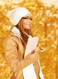 Romantic businesswoman Stock Photography