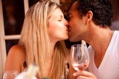 Romantic Cafe Restaurant Stock Photos