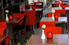 Romantic Cafe Stock Images