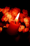 Romantic candle Royalty Free Stock Photo