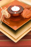 Romantic candle Royalty Free Stock Images