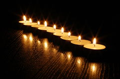 Free Romantic Candle Light Royalty Free Stock Photos - 8734268