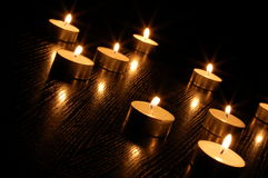 Free Romantic Candle Light Stock Image - 9606461