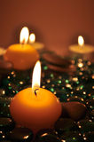 Romantic Candles Stock Image