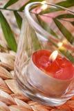 Romantic candles Stock Photo