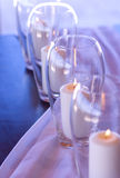 Romantic candles Stock Images