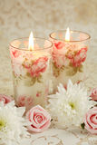 Romantic candles Royalty Free Stock Photography