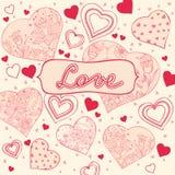 Romantic card stock photo