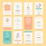 Romantic Card, Birthday Party, Wedding Invitations. Wedding invitation, birthday party flyer, Valentine`s day greeting card, romantic summer banner. Artistic Royalty Free Stock Images