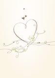 Romantic card Stock Photos