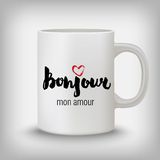 Romantic card, poster, mug, t-shirt print. Hello, my love. Royalty Free Stock Image