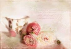 Romantic card. Royalty Free Stock Photos