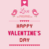Romantic card53 Stock Photography