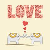 Romantic card13 Stock Image