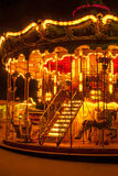 Romantic carousel. In Paris, France Stock Images