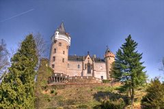 Romantic castle. HDRI of a romantic castle stock photo
