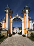 Romantic castle gate royalty free stock images