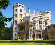 Romantic Castle,  Hluboka, Czech Republic Royalty Free Stock Image