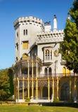 Romantic Castle, Hluboka, Czech Republic stock images