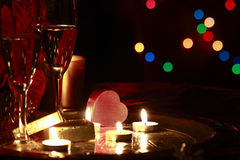 Romantic celebration Royalty Free Stock Image