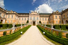 Romantic chateau Stock Photography