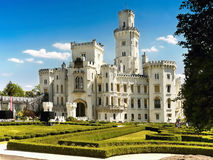 Romantic Chateau,  Hluboka, Czech Republic Stock Photography